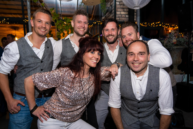 Party en bruiloft band Phoenix Coverband
